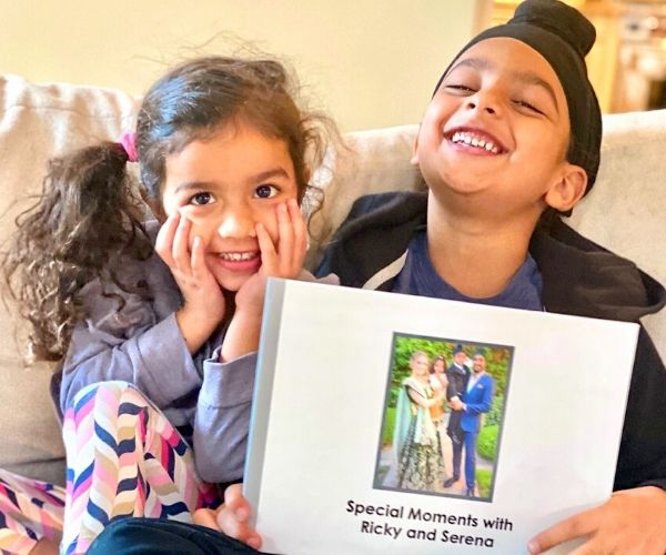 kids reading tellabee book